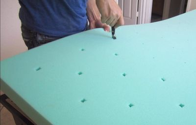 Cutting Upholstery Foam